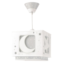 Dalber 63232E - Детски Полилей MOON LIGHT 1xE27/60W/230V
