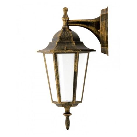 Екстериорна Стенна лампа 1xE27/20W/230V фурнир