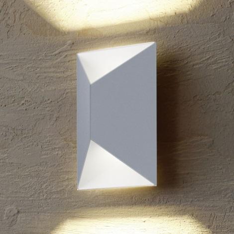 Eglo 54603 - LED Екстериорна Стенна лампа PREDAZZO 2xLED/2,5W/230V IP44