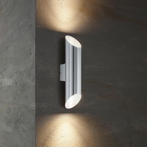 Eglo 54604 - LED Екстериорна Стенна лампа AGOLADA 2xLED/3,7W/230V IP44