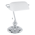 Eglo 90968 - Настолна лампа  BANKER E27/60W