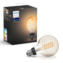 LED Димируема крушка Philips HUE WHITE FILAMENT G93 E27/7W/230V 2100K