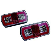LED Позиционна лампа MULTI LED/1,5W/12-24V IP67 червена