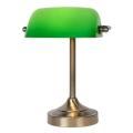 Lucide 17504/01/03 - Настолна лампа BANKER 1xE14/ESL 11W/230V