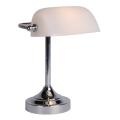 Lucide 17504/01/11 - Настолна лампа BANKER 1xE14/ESL 11W/230V
