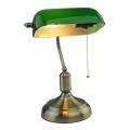 Настолна лампа BANKER 1xE27/60W/230V