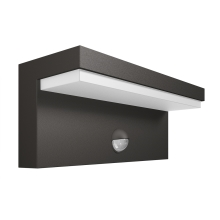 Philips 16484/93/P3 - LED Екстериорна Стенна лампа сензор BUSTAN 2xLED/4,5W IP44