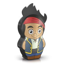Philips 71767/05/16 - LED Детска Фенерче DISNEY JAKE PIRATE 1xLED/0,3W/2xAAA