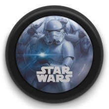 Philips 71924/30/P0 - LED Детскo сензор на допир лампа STAR WARS LED/0,3W/2xAA