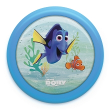 Philips 71924/35/P0 - LED Детскo сензор на допир лампа DISNEY FINDING DORY LED/0,3W/2xAAA