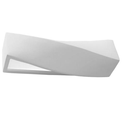 Стенна лампа SIGMA 1xE27/60W/230V бяла