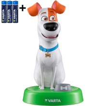 Varta 15641 - LED Детска лампа THE SECRET LIFE OF PETS LED/3xAAA